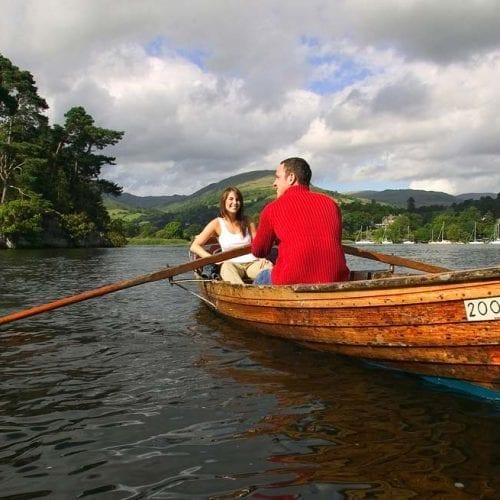 Boat on Lake Windermere