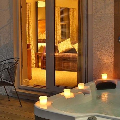 Hot Tub on Balcony