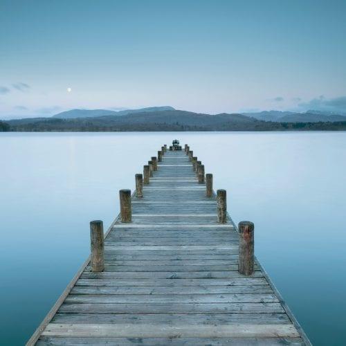 Lake Windermere Jetty Moon