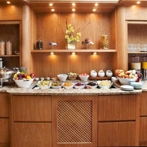 Breakfast buffet In Bistro